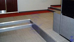 پله کف کاذب