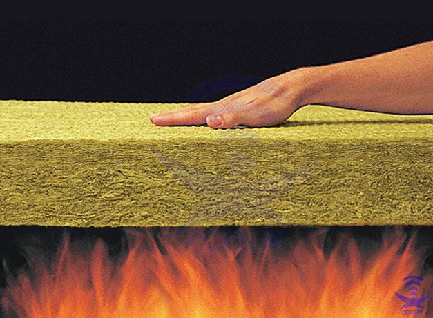 مقاومت پشم سنگ در برابر حریق