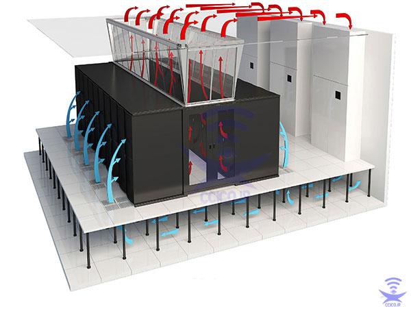 طراحی و اجرای استاندارد اتاق سرور