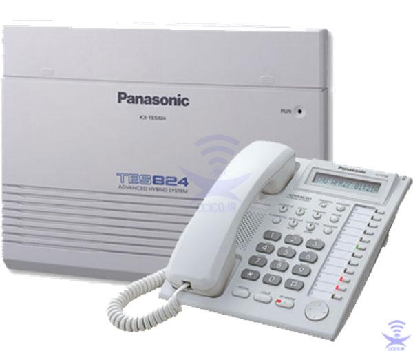 سانترال کم ظرفیت Panasonic-KX-TES824