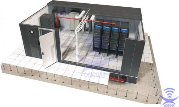 طراحی اتاق سرور