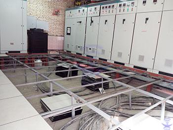 کف کاذب اتاق برق