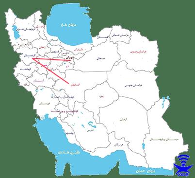 فاصله کردستان نا انبارهای نوآوران